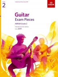 ABRSM: Guitar Exam Pieces from 2019, ABRSM Grade 2