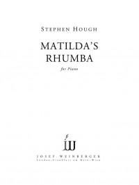 Matilda's Rhumba (piano solo)