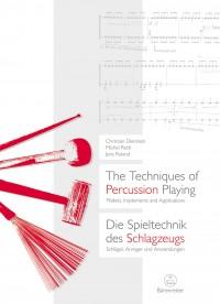 The Techniques of Percussion / Die Spieltechnik des Schlagzeugs