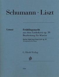 Schumann/Liszt: Frühlingsnacht aus dem Liederkreis op. 39