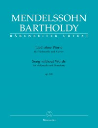 Mendelssohn, Felix: Song without Words for Violoncello and Pianoforte op. 109
