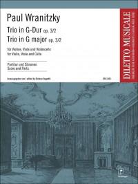 Paul Wranitzky: Trio Op. 3/2