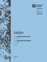 "Mahler: Symphonic Movement for orchestra ""Blumine"""