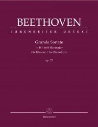 Beethoven: Piano Sonata in B flat major, op. 22