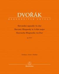Dvořák: Slavonic Rhapsody in A flat major Op. 45/3