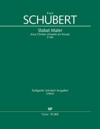 Schubert: Stabat Mater D383 (Full Score)