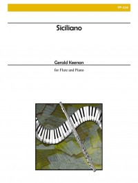 Gerald Keenan: Siciliano for Flute and Piano