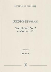 Hubay, Jenö: Symphony No.2 in C minor op.93