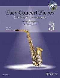 Easy Concert Pieces for Alto Saxophone Volume 3