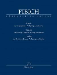 Zdenek Fibich: Songs on Texts by Johann Wolfgang von Goethe