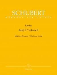 Schubert, Franz: Lieder Volume 9 (Medium Voice)