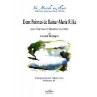 Gérard Hilpipre_Rainer Maria Rilke: Deux poèmes de Rainer-Maria Rilke