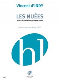 Nuees, Les (saxophone quartet and piano)