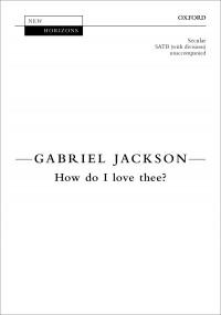 Jackson: How do I love thee?