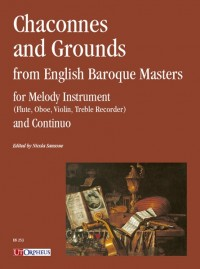 Chaconnes and Grounds from English Baroque Masters
