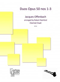 Offenbach, Jacques: Duo Op. 50 1-3