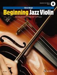 Beginning Jazz Violin
