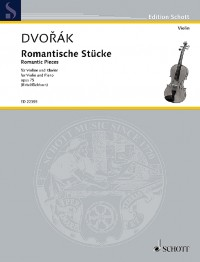 Dvořák: Romantic Pieces, Op. 75