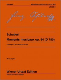 Schubert: Moments musicaux, op. 94 (D780)