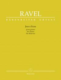 Maurice Ravel: Jeux d'eau for Piano