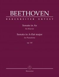 Beethoven: Piano Sonata in A flat major, op. 110