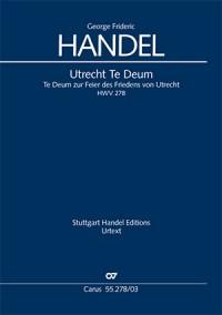 Handel: Utrecht Te Deum, HWV278