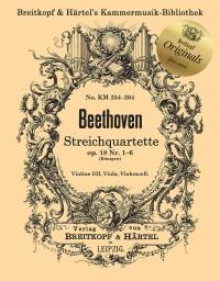 Ludwig van Beethoven: String Quartets, Op. 18 Nos. 1-6