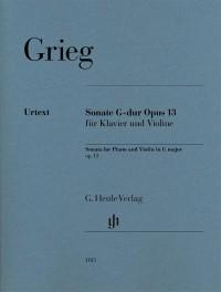 Grieg: Violin Sonata in G major, Op. 13