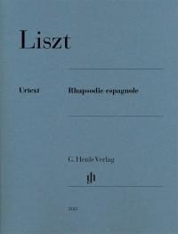 Liszt: Rhapsodie espagnole