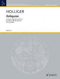 Holliger, H: Reliquien