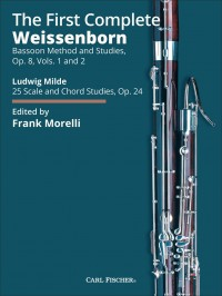 The First Complete Weissenborn Bassoon Method and Studies