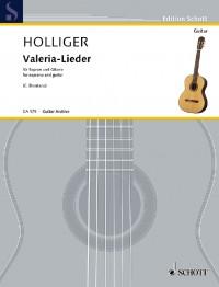 Holliger, H: Valeria-Lieder