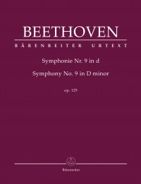 Beethoven, Ludwig van: Symphony no. 9 in D minor op. 125