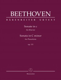 Beethoven: Piano Sonata in C minor, Op. 111