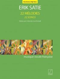 Erik Satie: 22 Mélodies