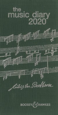 Music Diary 2020 Green