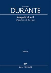 Durante: Magnificat in B flat major