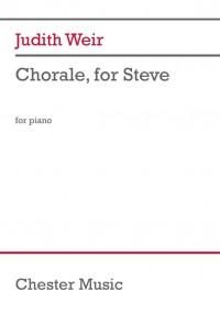 Judith Weir: Chorale, for Steve