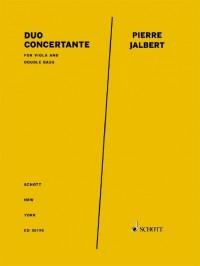 Jalbert, P: Duo Concertante