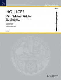 Holliger, H: Five little pieces