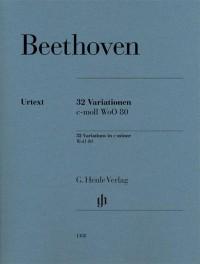 Beethoven: 32 Variations in C minor, WoO 80