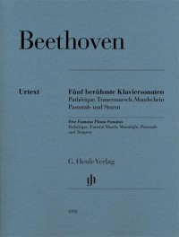 Beethoven: Five Easy Piano Sonatas