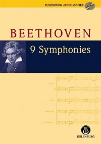 Beethoven: 9 Symphonies (Study Scores with audio)