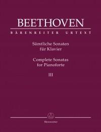 Beethoven, Ludwig van: Complete Sonatas for Pianoforte III