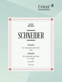 Schneider, Friedrich: Sonata in F major Op. Posth.