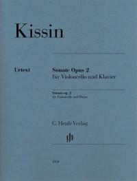 Evgeny Kissin: Sonata for Violoncello and Piano Op. 2