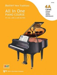 Bastien All in One Piano Course (Level 4A)