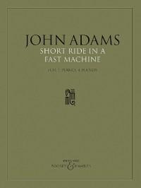 John Adams: Short Ride in a Fast Machine (piano duet version)
