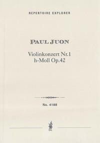 Juon, Paul: Violin Concerto in B minor, Op. 42