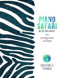 Piano Safari for the Older Student Level 3: Repertoire & Technique